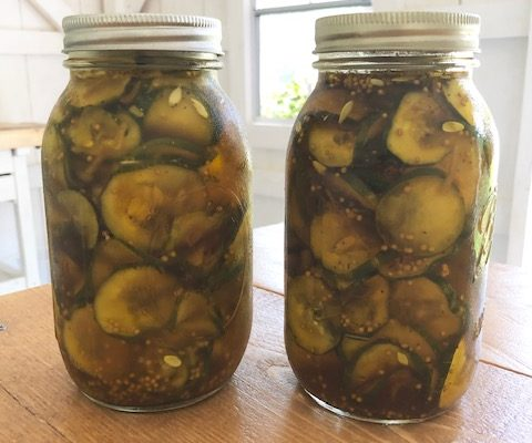 Quick and Easy Refrigerator Bread and Butter Pickles